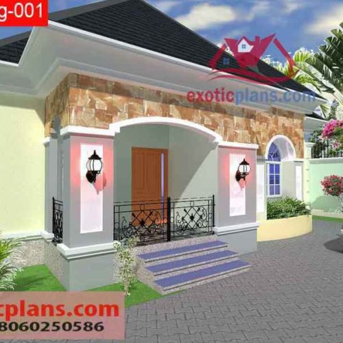 4 BEDROOMS BUNGALOW Bg O011 Upload