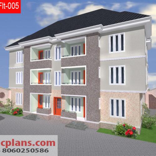 3 bedroom house plans 4 bedrooms bungalows duplex 2 for 4 bedroom flat bungalow plan