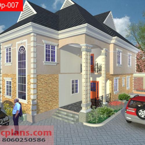 4 bedrooms duplex dp 019. Black Bedroom Furniture Sets. Home Design Ideas