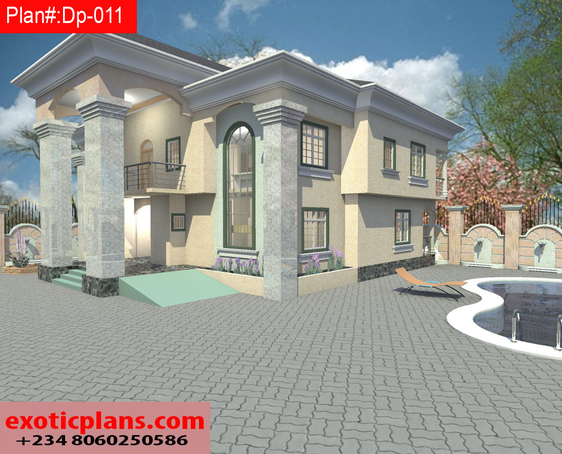 4 bedrooms duplex dp 011 for 4 bedroom duplex design