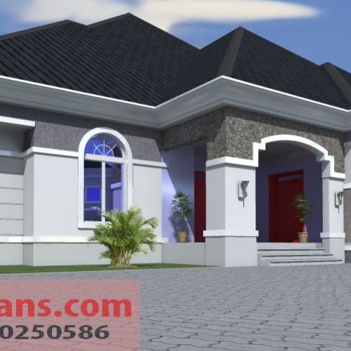 4 Bedrooms Bungalow Bg 012
