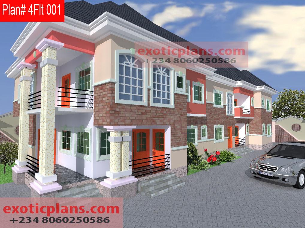 4 flats