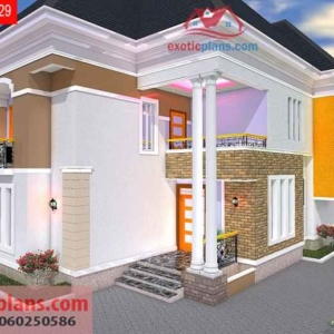 Prime 3 Bedroom House Plans 4 Bedrooms Bungalows Duplex 2 Flats Home Interior And Landscaping Ologienasavecom