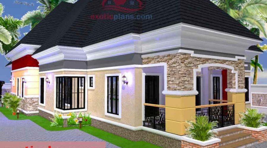 2 Bedroom Modern House Plans In Nigeria