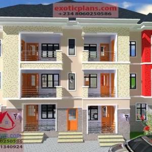 3 bedroom house plans, 4 bedrooms Bungalows, Duplex, 2 ...