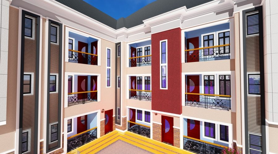 Floor Plan Architectural Designs For 4